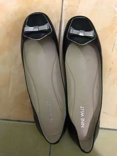 SF INCLUDED - AUTHENTIC Nine West Leather Ribbon Flats (Unused)