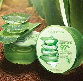 Nature Republic 92% Aloe Vera Shooting Gel