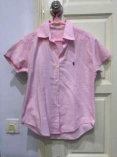 preppy ralph lauren blouse