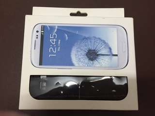 全新Detachable Keyboard Case for Galaxy S3 藍牙無線鍵盤