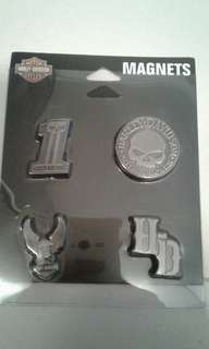 Harley davidson magnets 2 sets