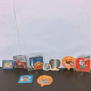 🚚 全新卡通磁鐵組 隨便賣 #加菲貓 #櫻桃小丸子 #小丸子 #open將 #open小將  #hellokitty #kitty #keroro軍曹 #keroro #帕丁頓熊