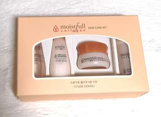 Etude House Moistfull Collagen Skincare Kit