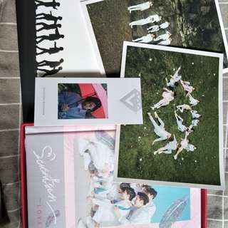 🚚 Seventeen專輯First Love & First Letter