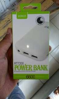 Powerbank ROBOT 6600 mAh