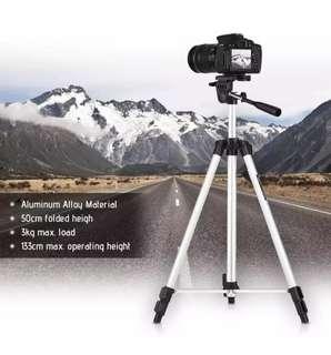 Portable Photography Tripod for Nikon Canon Sony DSLR Cameras