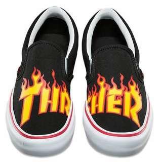 🚚 Vans thrasher 重磅聯名 火焰 全新公司貨 尺寸全備