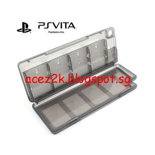 [BN] PSV PS Vita 10-in-1 Cartridge & Memory Card Holder (Brand New)