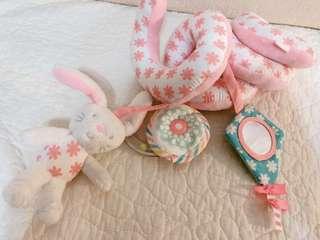 🚚 Mothercare~嬰兒推車玩具/床邊玩具~9成新