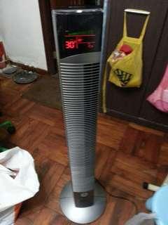 Turbo Italy直立式風扇二手七八成新因则面有破損全正常已清洗西贡區