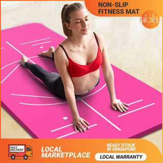 ✔FREE DELIVERY: Non-Slip Yoga Mat Pad Camping Gym Workout Pilates Fitness Exercise Mats