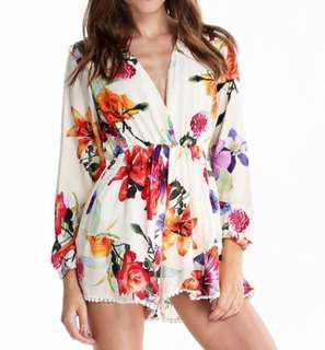 V neck Playsuit