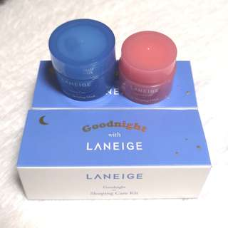Laneige Goodnight Sleeping Kit