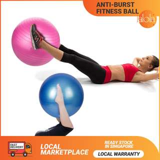 ✔FREE DELIVERY: Anti-Burst Yoga Gym Ball with Free Pump