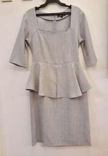 SALE Daria peplum dress