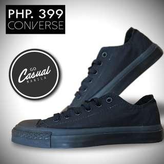 Black Converse Low Cut