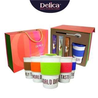 Gift set white cofee