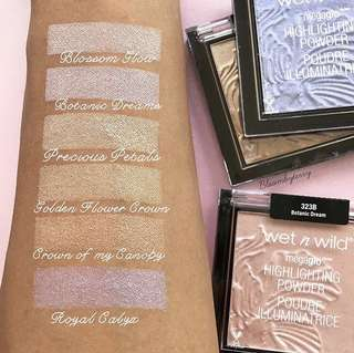 🚚 Sale! Wet n Wild Megaglo Highlighter Compacts