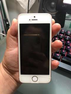 iPhone 5 SE 64gb Rose Gold + Razer Hammerhead Pro V2