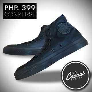Black Converse High Cut