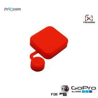 Proocam Pro-J118-RD Silicon Cap for Gopro Hero Waterproof Case (RED)