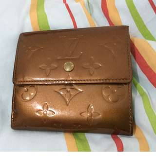 Original Louis Vuitton ELISE wallet in vernis