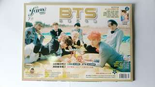 🚚 BTS 防彈少年團 雜誌 封面 Fans 粉絲誌