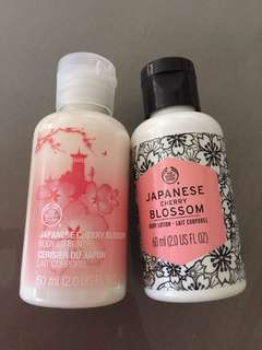 BN Japanese cherry blossom body lotion