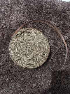 Woven bag from Bali