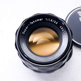 Pentax 55mm f1.8 M42 mount manual focus lens