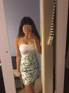 KOOKAÏ Floral Stripe Skirt (34)