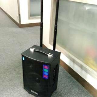 K-7全新戶外廣音器(小露寶)附送2支無線咪