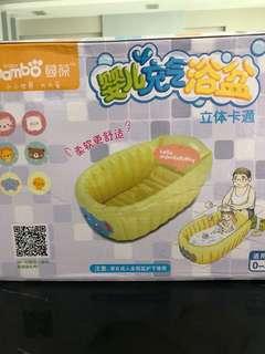 Brand new baby inflatable bathtub (PINK)