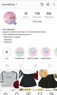 Follow Us on Instagram: @mixandbling 😊