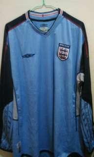 Jersey Kiper ENGLAND 2002