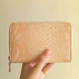 Mini Snakeskin Wallet