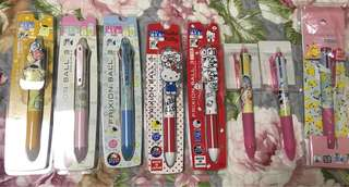 Ready stock - Pilot Characters Multi Frixion Pen - ready descriptions for detailed price list