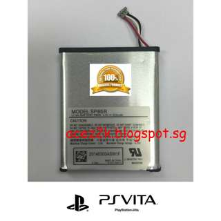 [BN]  PSV PS Vita 2000 Slim Original Sony Rechargeable Battery SP86R (Brand New)