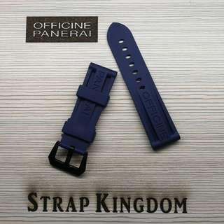 PANERAI - 24mm Rubber橡膠帶R003代用錶帶(PAM,APPLE WATCH合用)
