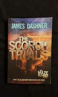 The Scorch Trials (book 2) by James Dashner (The Maza Runner Series) #postforsbux
