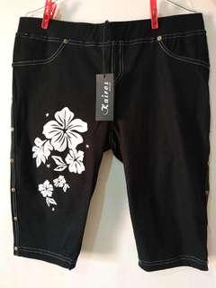 Celana legging jeans selutut