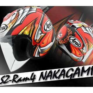 ARAI SZ-RAM4 NAKAGAMI Helmet
