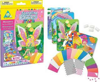 Sticky Mosaics Activity - SPARKLING (4 IN 1)