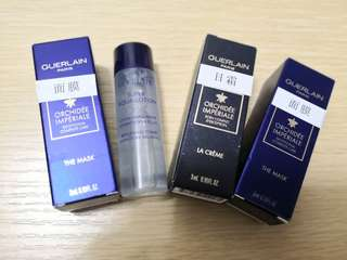 包郵 Guerlain sample - mask cream toner