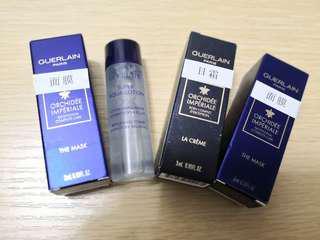 包郵 Guerlain sample - mask cream toner
