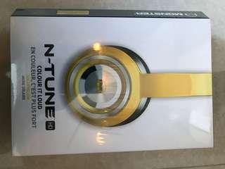 New Monster N-Tune HD On-Ear Headphones - yellow