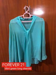 F21 Longsleeves top
