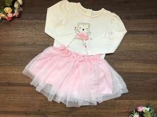 🚚 Romper with TuTu skirt