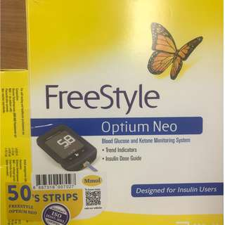 Freestyle Optium Neo Monitor (LCHF, Ketone, Glucose)