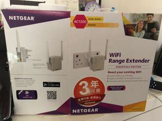 Netgear EX6120 雙頻 1200M WiFi 訊號放大 中繼器